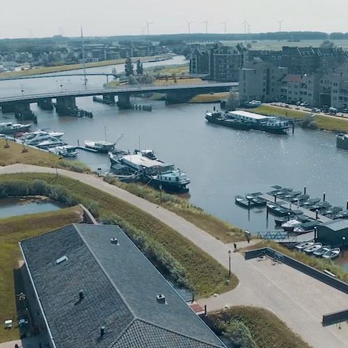 Geertruidenberg stad aan de Biesbosch
