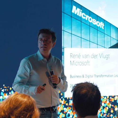 Creme Nederland bijeenkomst bij Microsoft